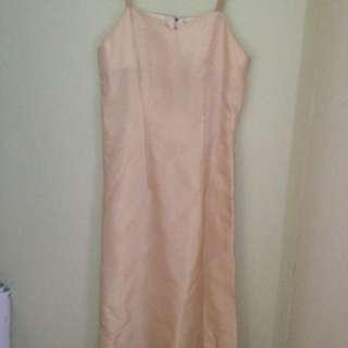 Strappy Long Dress