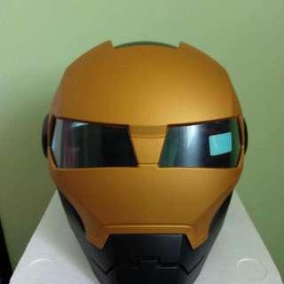 Original Masei Atomic Man Motorcycle Helmet