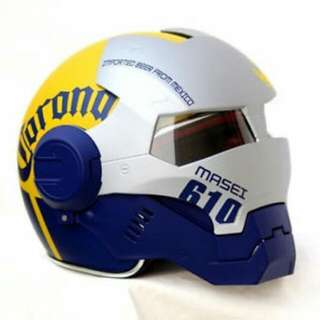 Original Masei Atomic Man Corona Motorcycle Helmet