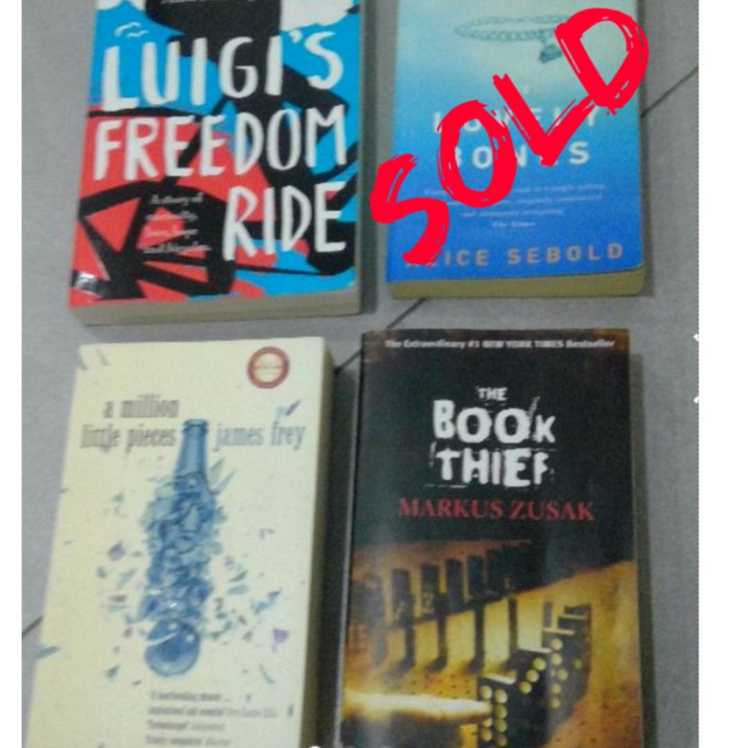 Young Adult Classics The Book Thief, A Million Little Pieces