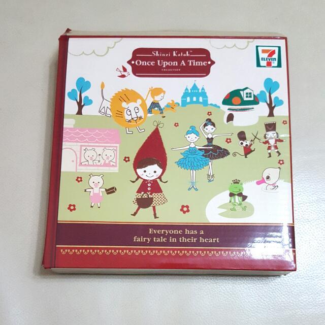天鵝湖 童話竹製餐碟 7-11 x Shinzi Katoh Swan Lake