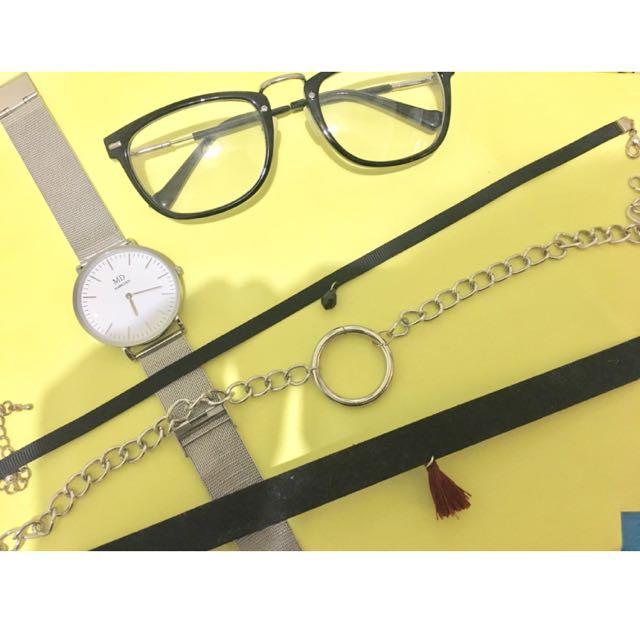 眼鏡/正韓手錶/正韓項鍊