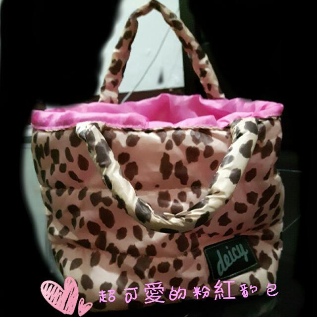 粉紅豹包 手提包🐆