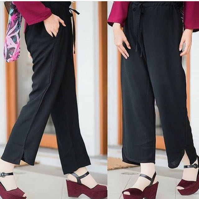 ARSY PANTS BLACK