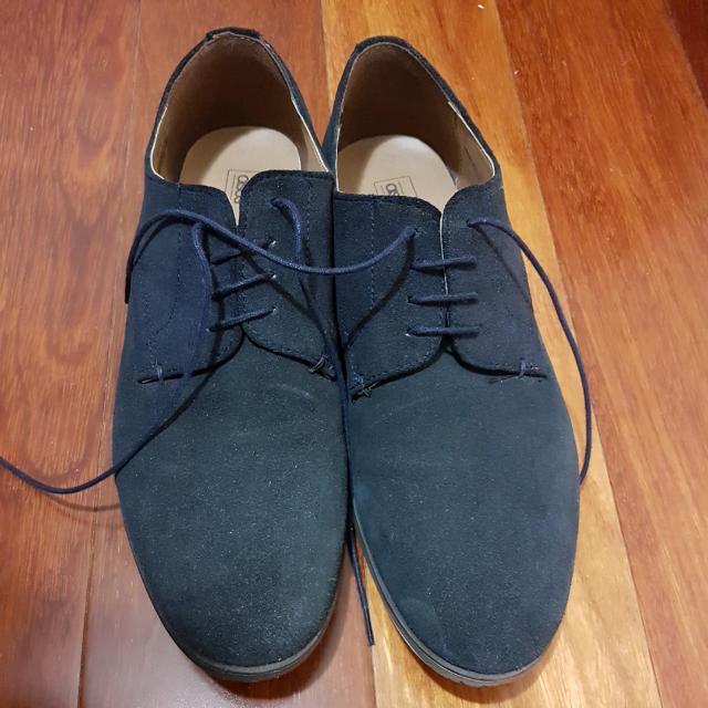 ASOS Navy Suede shoes