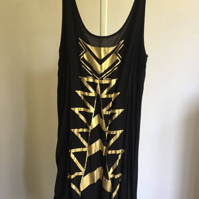 Asymmetrical singlet dress in size S