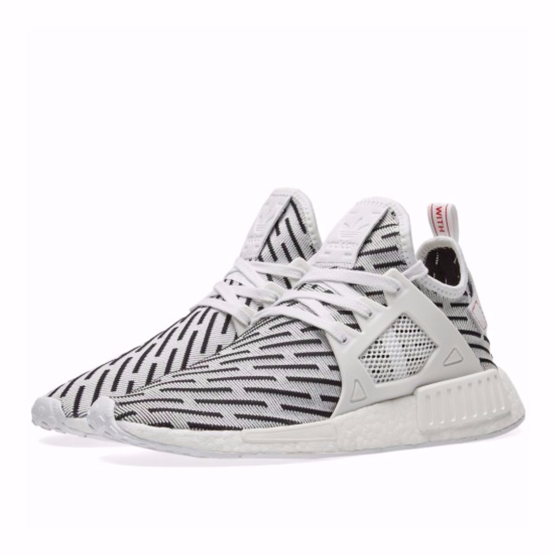 buy online d9b18 9e3a7 Authentic Adidas NMD XR1 Primeknit Zebra