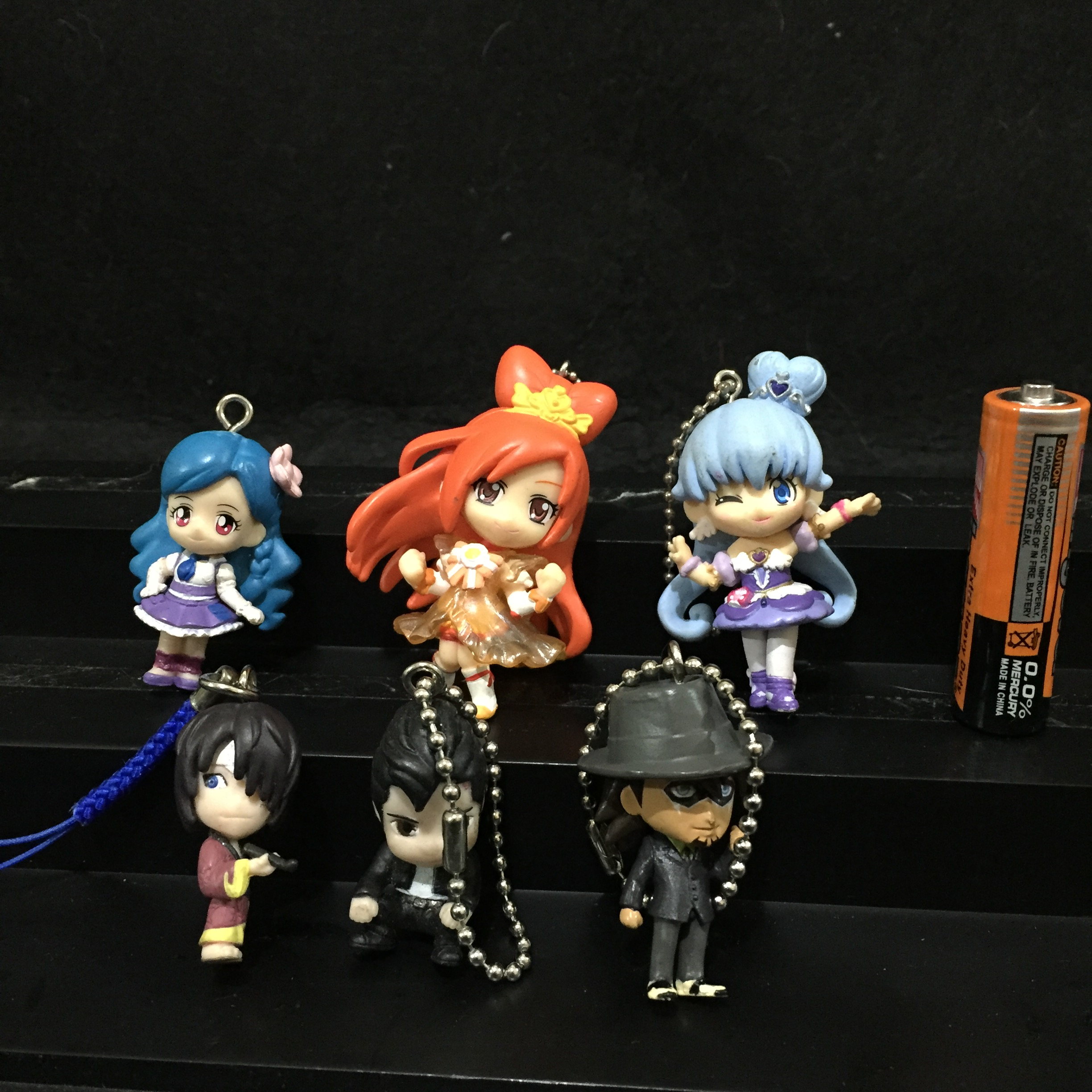 AUTHENTIC PRETTY CUTE AND KEYRINGS SET