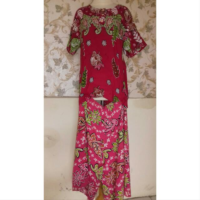 Batik Pink Baju-Celana