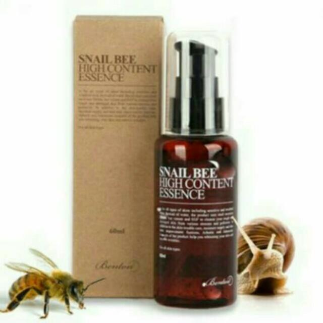 Benton Snail High Bee Content Essence
