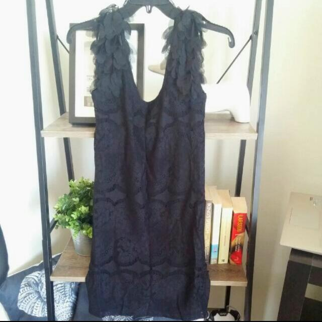 Black Bettina Liano Dress