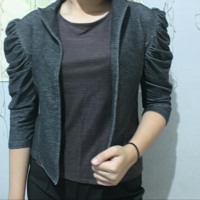 Blouse Dark Grey (Outer)