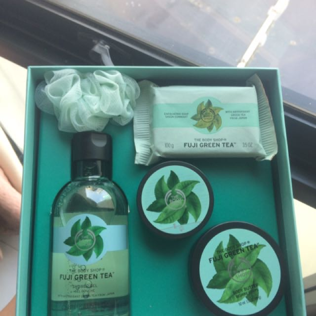 Body Shop Fuji Green Tea Gift Set