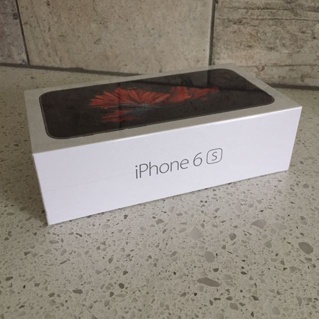 BRAND NEW UNOPENED iPhone 6S 32gb Space Grey