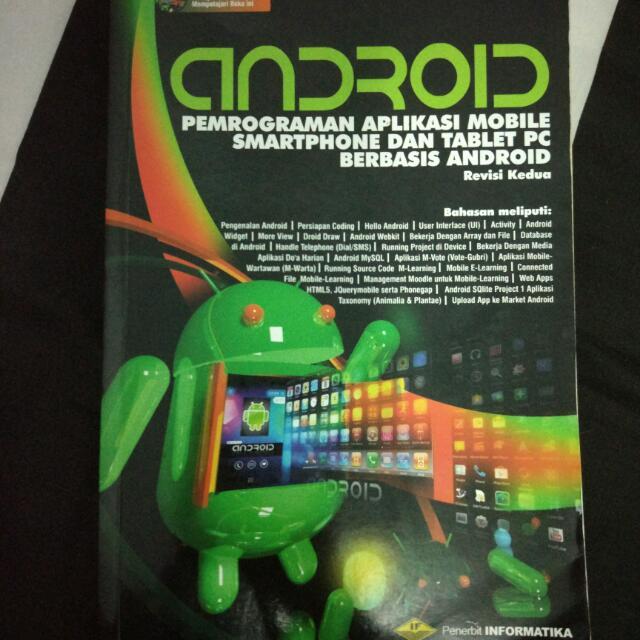 Buku Pemrograman Mobile Smartphone Berbasis Android