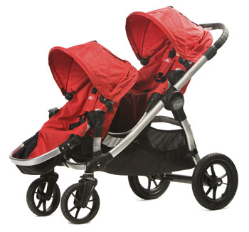 City Select stroller with 2 seats