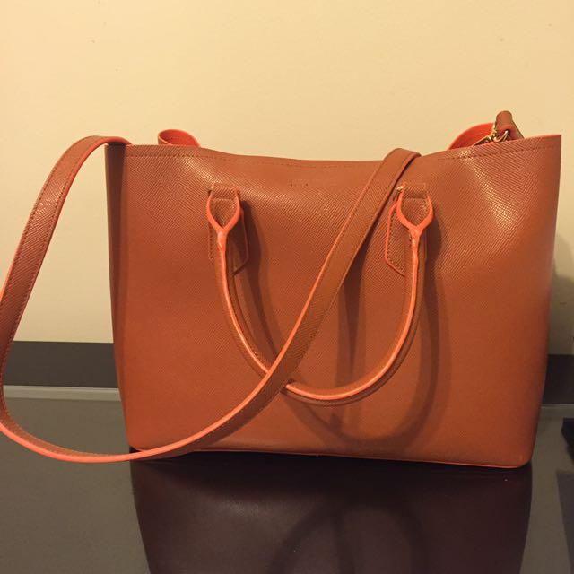 Colette Orange Bag