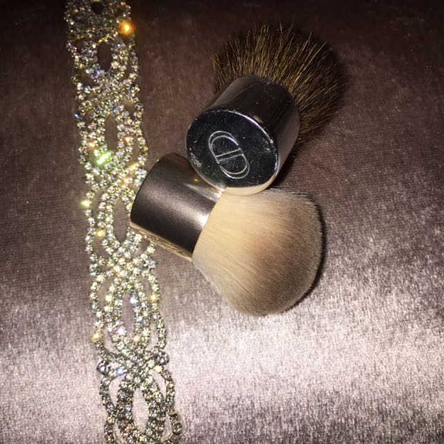 Dior And H&M Makeup Brushes