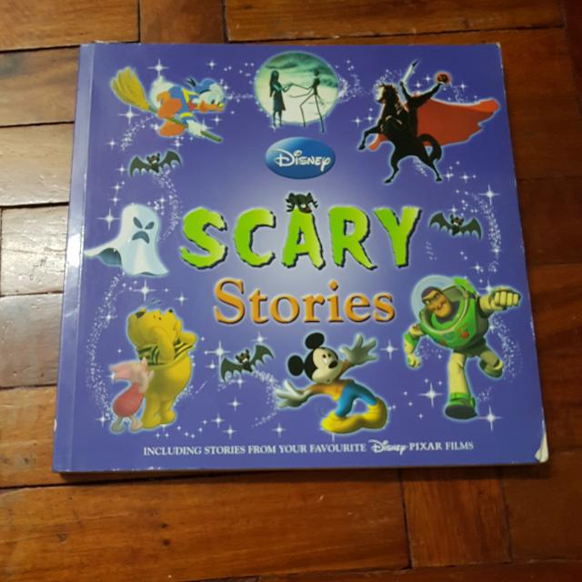 Disney- Scary Stories BOOK