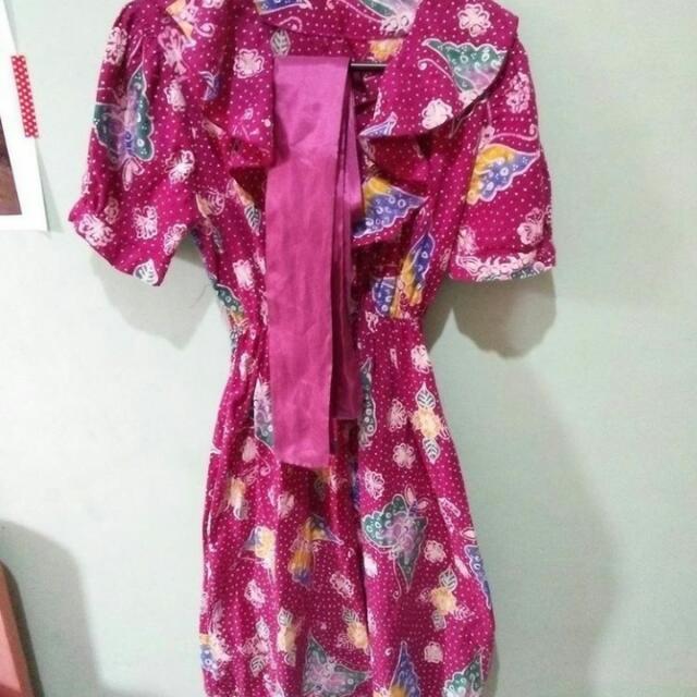 Dress Batik Tulis Vintage