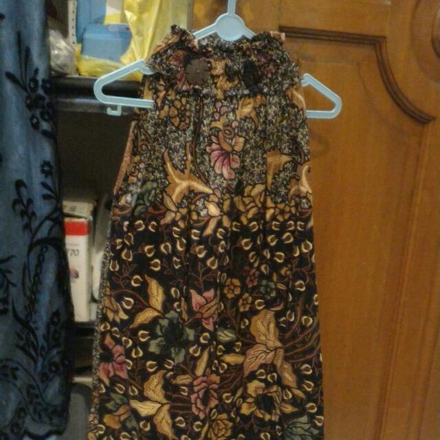 Dress Panjang Batik