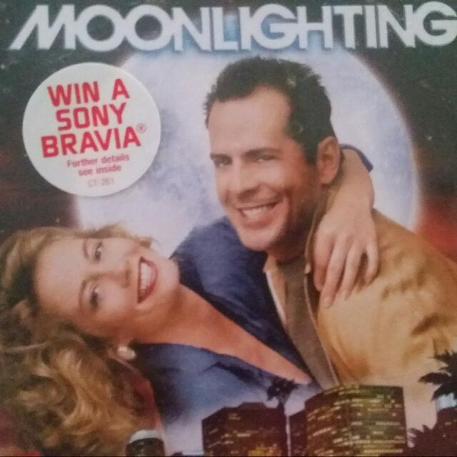 DVD Complete TV series of Moonlighting