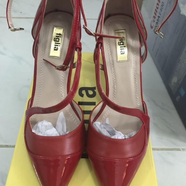 Figlia Red Shoes