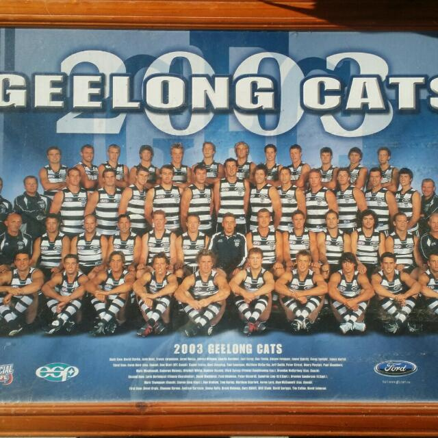 Football Gellonge CATs Framed Poster
