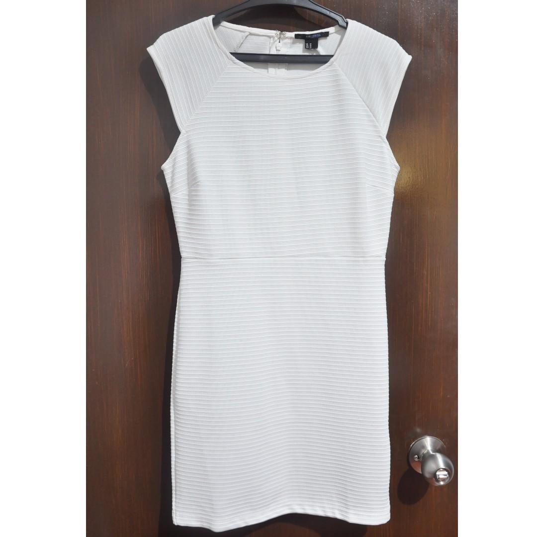 Forever 21 Little White Bodycon Dress