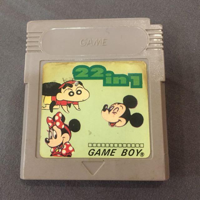 gameboy 卡帶 gbc gb 可用 合卡系列
