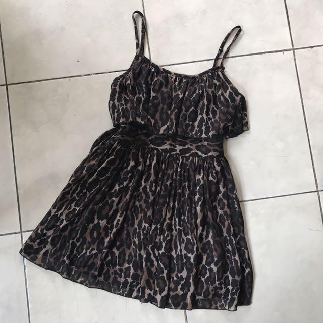 Guess Leopard Mini Dress