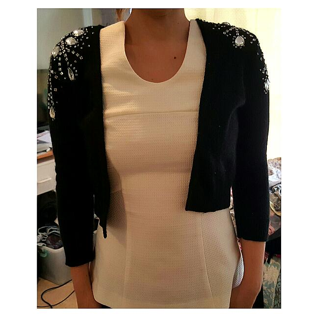 H&M Black Cardigan - Size 8