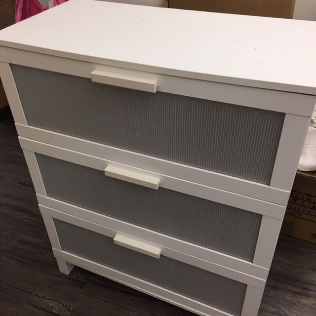 🔥便宜出售🔥Ikea純白大五斗櫃 搬家 衣櫃
