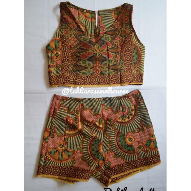 Indonesian Batik Set