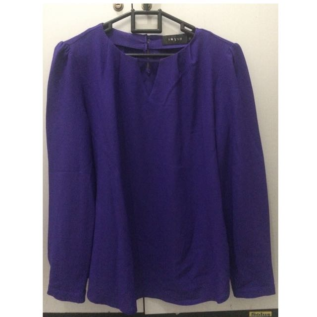Invio Purple Blouse
