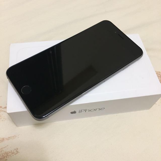 iPhone6 Plus 64G 太空灰 5.5吋 女用機