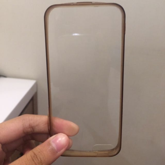 iphone 5/ 5s transparant soft case