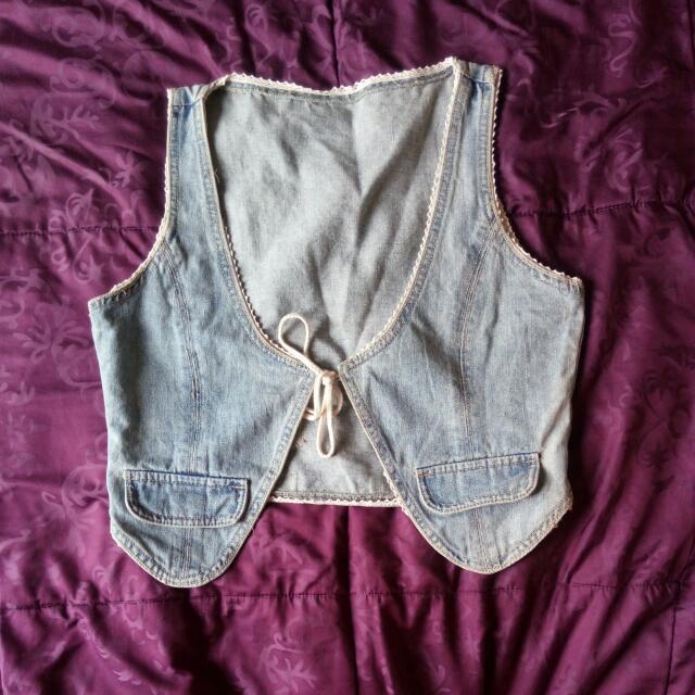 Jeans Vest / Rompi Denim