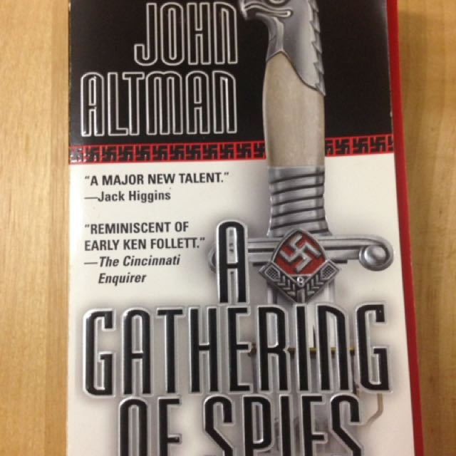"John Altman ""a Gathering Of Spies"""