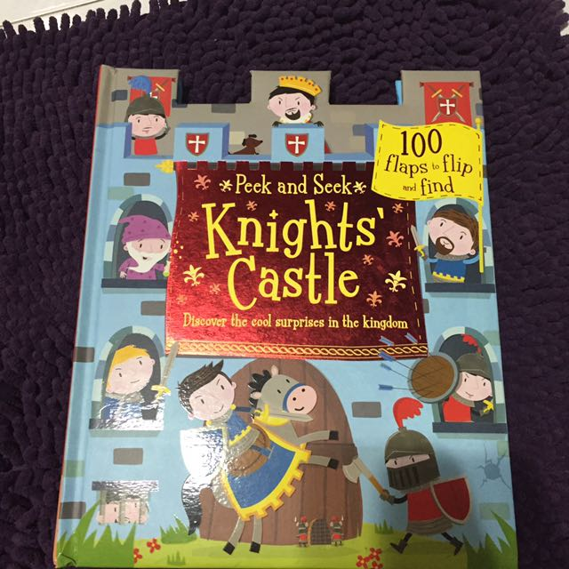 Knights' Castle Fun book