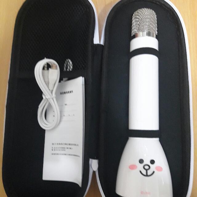 Line 兔兔 藍芽無線 麥克風 (700元免運)