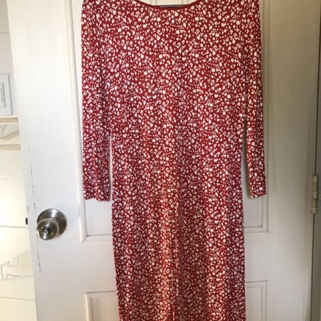 Mango Cotton jersey Dress