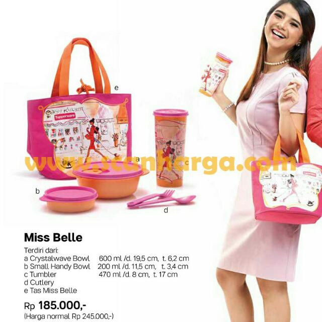 Miss Belle Tupperware