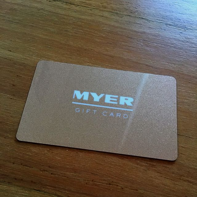 Myer Giftcard