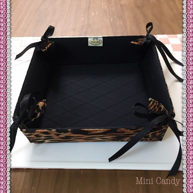 泰國NaRaYa豹紋收納盒