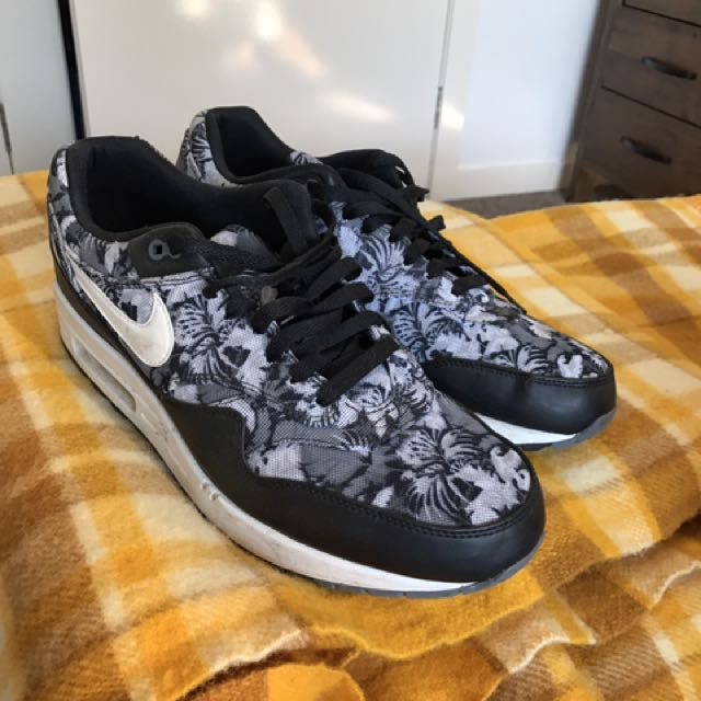 Nike Air Max 1s Tropical Print SIZE 12 mens