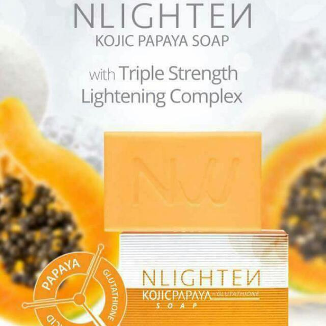 Nlighten kojic Papaya W/Gluta Soap