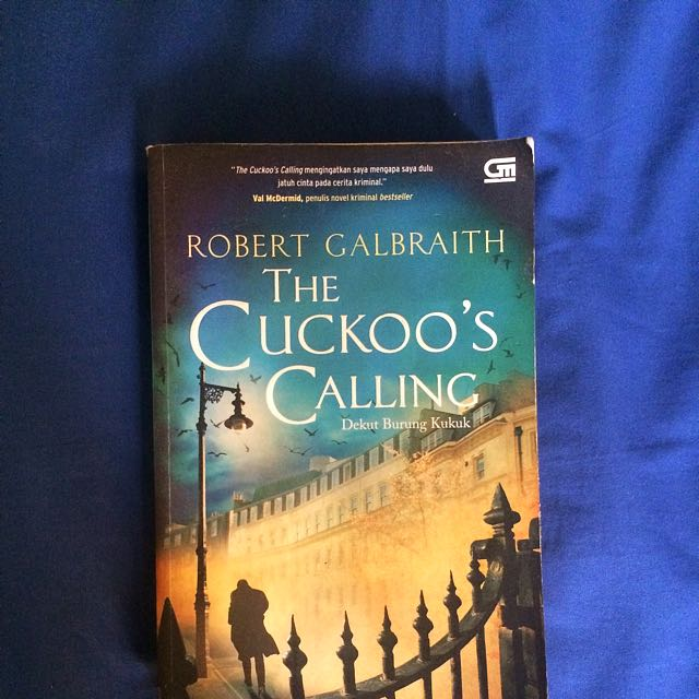 "(Novel) ""The Cuckoo's Calling"""