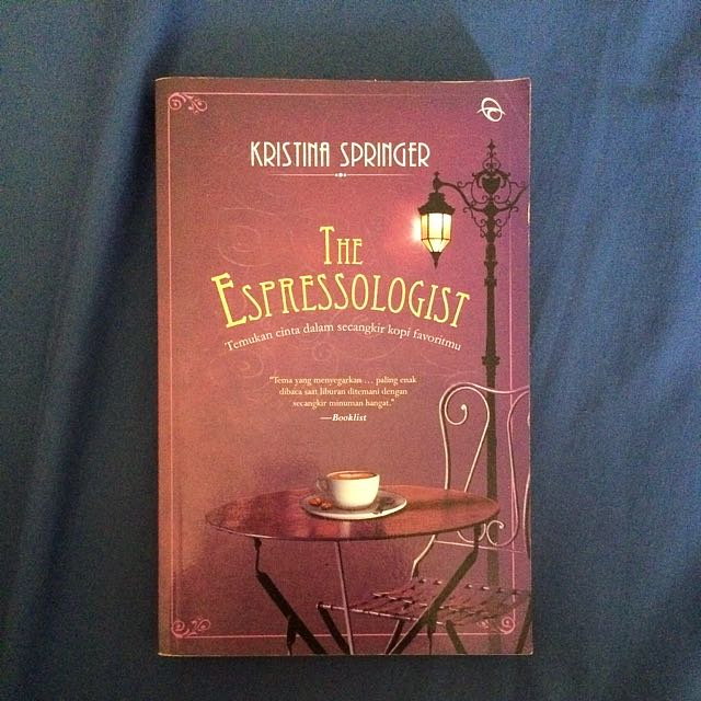 "(Novel) ""The Espressologist"""
