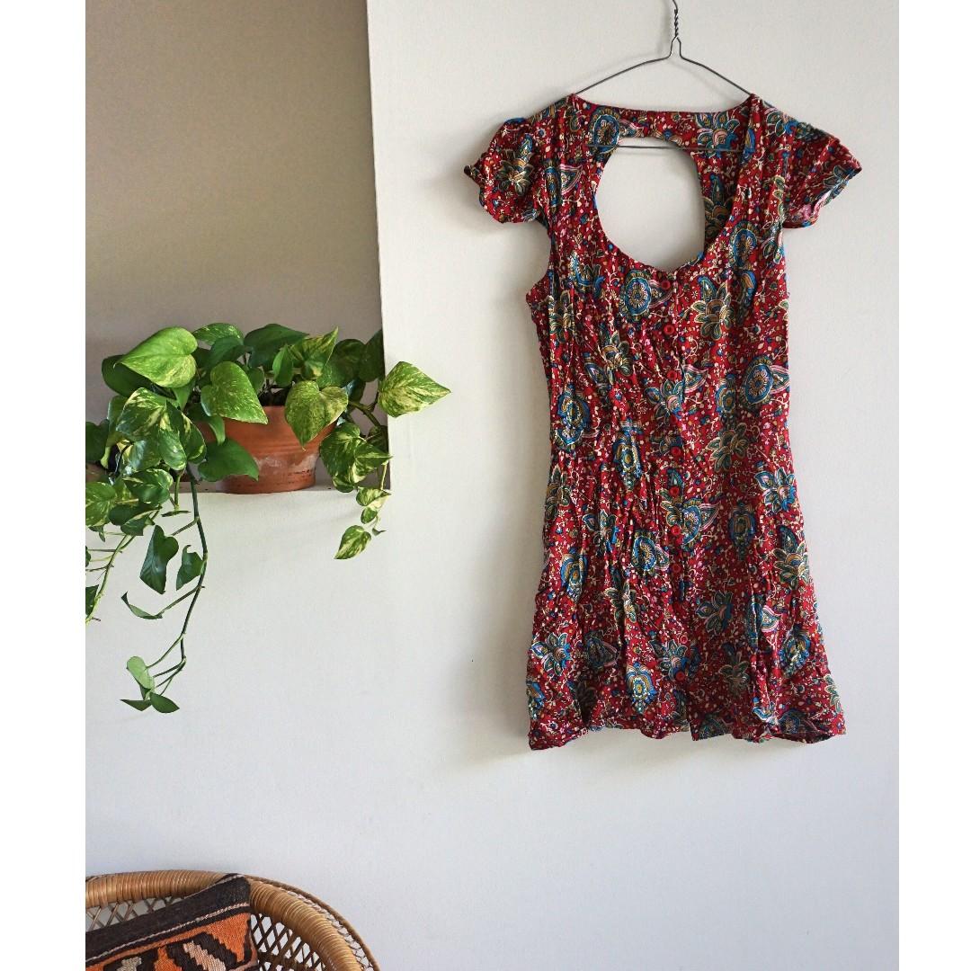 Paisley ASOS Dress Boho